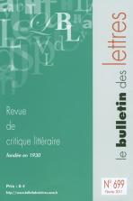 Le Bulletin des Lettres