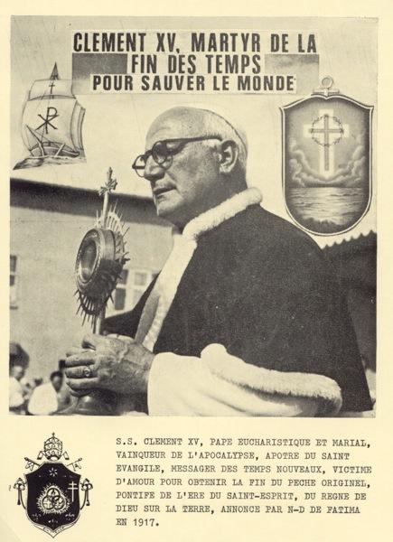 Le sédévacantisme est une erreur et un péché grave : Anti-papes... ClementXV_NB