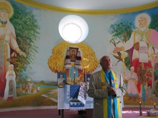 Dans un temple de l'organisation RUNVira.